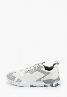 Кроссовки, Geox, цвет: белый. Артикул: GE347AMIEDX0.