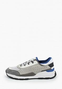 Кроссовки, Geox, цвет: серый. Артикул: GE347AMIEDX3.