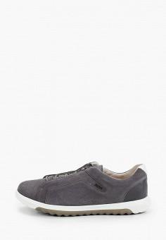Кроссовки, Geox, цвет: серый. Артикул: GE347AMIEDY6.
