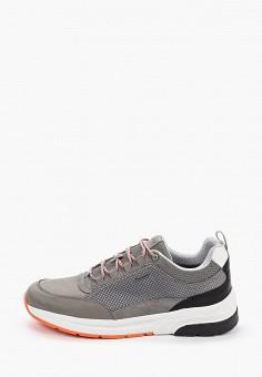 Кроссовки, Geox, цвет: серый. Артикул: GE347AMIEDY8.