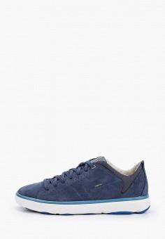 Кроссовки, Geox, цвет: синий. Артикул: GE347AMIEDZ0.