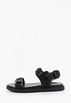 Сандалии, Geox, цвет: черный. Артикул: GE347AMIEEA1.