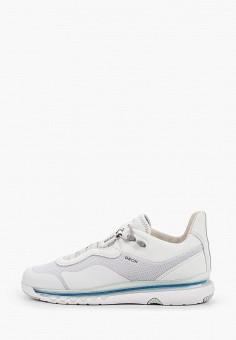 Кроссовки, Geox, цвет: белый. Артикул: GE347AMIEEA9.