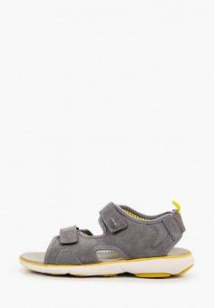 Сандалии, Geox, цвет: серый. Артикул: GE347AMIEEC3.