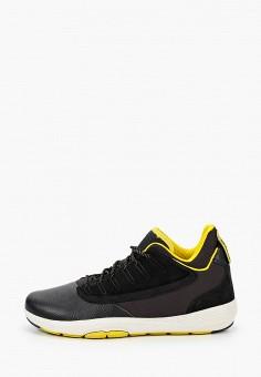 Кроссовки, Geox, цвет: черный. Артикул: GE347AMKKQP5.