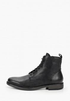 Ботинки, Geox, цвет: черный. Артикул: GE347AMKKQP9.