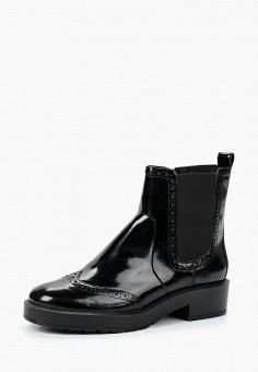 Ботинки, Geox, цвет: черный. Артикул: GE347AWBWSO5.
