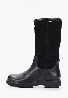 Полусапоги, Geox, цвет: черный. Артикул: GE347AWFSLL7. Обувь / Сапоги / Полусапоги