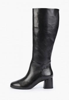 Сапоги, Geox, цвет: черный. Артикул: GE347AWFSLM0. Обувь / Сапоги