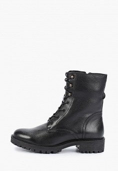 Ботинки, Geox, цвет: черный. Артикул: GE347AWFSLM7.