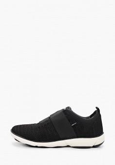Кроссовки, Geox, цвет: черный. Артикул: GE347AWIECX2.