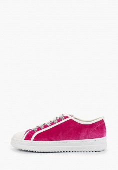 Кеды, Geox, цвет: розовый. Артикул: GE347AWIECY1.