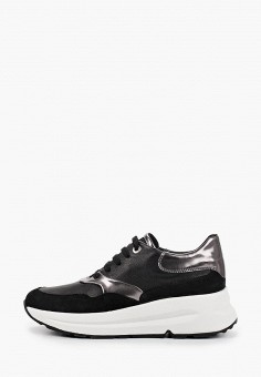 Кроссовки, Geox, цвет: черный. Артикул: GE347AWIECY8.