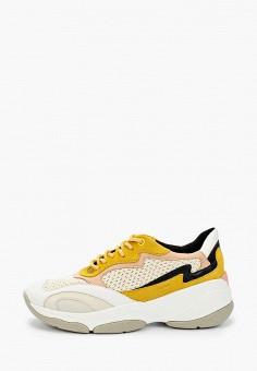 Кроссовки, Geox, цвет: бежевый. Артикул: GE347AWIEDA0.
