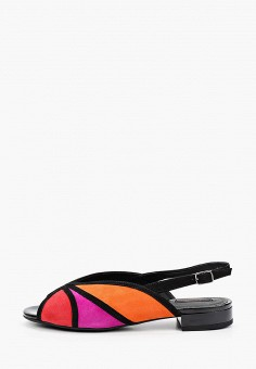 Босоножки, Geox, цвет: мультиколор. Артикул: GE347AWIEDA7.