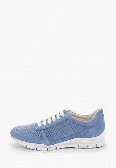 Кроссовки, Geox, цвет: голубой. Артикул: GE347AWIEDB5.