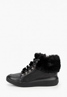 Ботинки, Geox, цвет: черный. Артикул: GE347AWKKRS5.