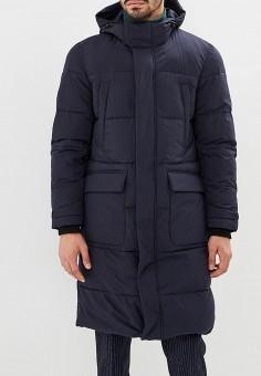 Куртка утепленная, Geox, цвет: синий. Артикул: GE347EMBWUE3. Одежда / Верхняя одежда / Пуховики и зимние куртки / Зимние куртки
