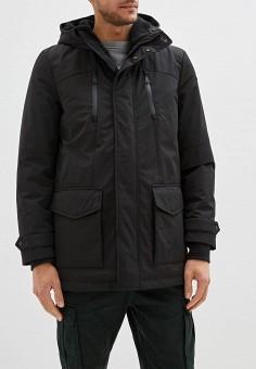 Куртка утепленная, Geox, цвет: черный. Артикул: GE347EMFSLR5. Одежда / Верхняя одежда / Пуховики и зимние куртки / Зимние куртки