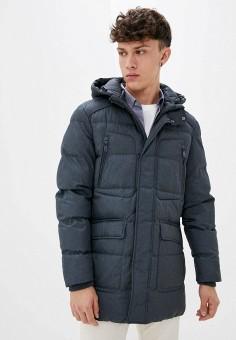Куртка утепленная, Geox, цвет: серый. Артикул: GE347EMKKQW4.