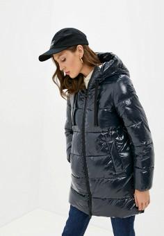 Куртка утепленная, Geox, цвет: синий. Артикул: GE347EWKKRW8. Одежда / Верхняя одежда