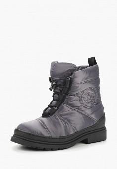 Дутики, Gene, цвет: серый. Артикул: GE632AWCMWQ6. Обувь / Сапоги / Дутики