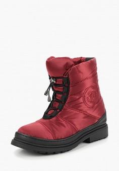 Дутики, Gene, цвет: бордовый. Артикул: GE632AWCMWQ7. Обувь / Сапоги / Дутики