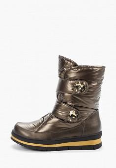 Дутики, Gene, цвет: хаки. Артикул: GE632AWGBGN0. Обувь / Сапоги / Дутики