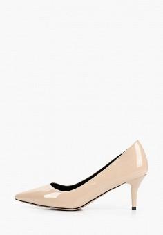 Туфли, Gene, цвет: бежевый. Артикул: GE632AWIVPQ6. Обувь / Туфли