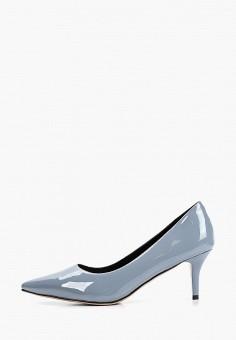 Туфли, Gene, цвет: голубой. Артикул: GE632AWIVPQ7. Обувь / Туфли / Лодочки