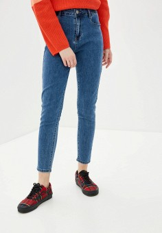 Джинсы, G&G, цвет: синий. Артикул: GG001EWIEQI4. Одежда / Джинсы / Узкие джинсы