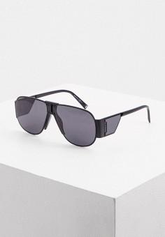 Очки солнцезащитные, Givenchy, цвет: черный. Артикул: GI007DUIULI2. Аксессуары