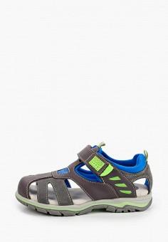 Сандалии, Gioseppo, цвет: серый. Артикул: GI022ABIIBZ0. Мальчикам / Обувь