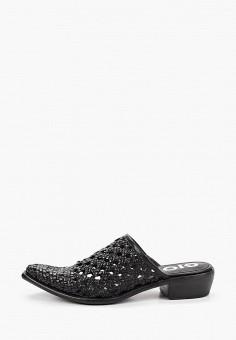 Мюли, Gioseppo, цвет: черный. Артикул: GI022AWIIVT9. Обувь / Сабо и мюли