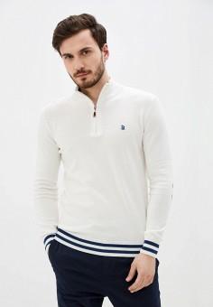 Джемпер, Giorgio Di Mare, цвет: белый. Артикул: GI031EMJDKS8. Одежда / Джемперы, свитеры и кардиганы / Джемперы и пуловеры