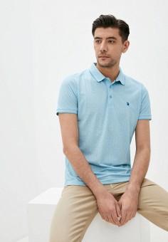 Поло, Giorgio Di Mare, цвет: голубой. Артикул: GI031EMJHTU5. Одежда / Футболки и поло / Поло