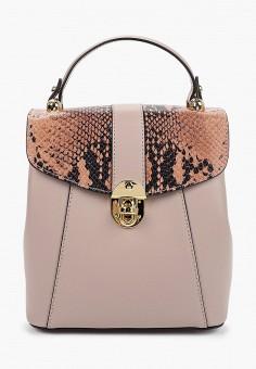 Рюкзак, Giulia Monti, цвет: розовый. Артикул: GI039BWJGPU2. Аксессуары / Рюкзаки