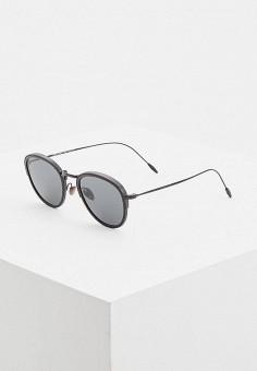 Очки солнцезащитные, Giorgio Armani, цвет: черный. Артикул: GI636DMDDNX6. Аксессуары