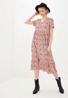 Платье, Glamorous, цвет: розовый. Артикул: GL008EWIDYY4. Одежда / Платья и сарафаны / Повседневные платья