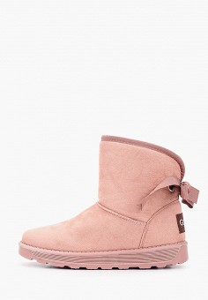 Полусапоги, Go-Go, цвет: розовый. Артикул: GO017AWGYQY3. Обувь / Сапоги