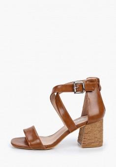 Босоножки, Go-Go, цвет: коричневый. Артикул: GO017AWISID8. Обувь