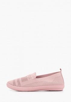 Слипоны, Go-Go, цвет: розовый. Артикул: GO017AWJDZF0. Обувь / Слипоны