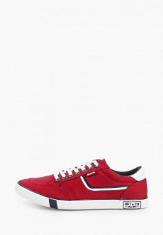Кеды, Go.Do., цвет: красный. Артикул: GO019AMIJBR8. Обувь