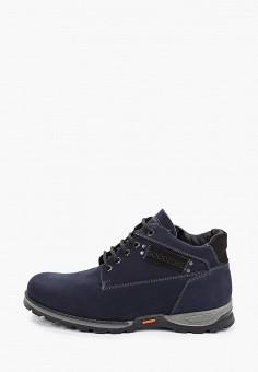 Ботинки, Goodzone, цвет: синий. Артикул: GO029AMGHMC4. Обувь / Ботинки / Низкие ботинки