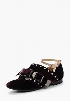 Туфли, Grand Style, цвет: фиолетовый. Артикул: GR025AWBHMV6. Обувь / Туфли
