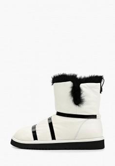 Полусапоги, Grand Style, цвет: белый. Артикул: GR025AWGCBR1. Обувь / Сапоги