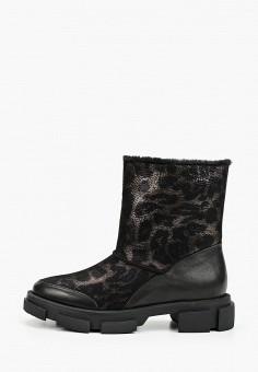 Полусапоги, Grand Style, цвет: черный. Артикул: GR025AWGCBR4. Обувь / Сапоги / Полусапоги