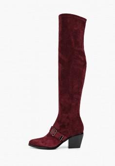 Ботфорты, Grand Style, цвет: бордовый. Артикул: GR025AWGCBT0. Обувь / Сапоги / Ботфорты