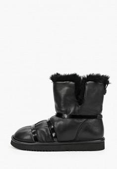Полусапоги, Grand Style, цвет: черный. Артикул: GR025AWGPZY5. Обувь / Сапоги