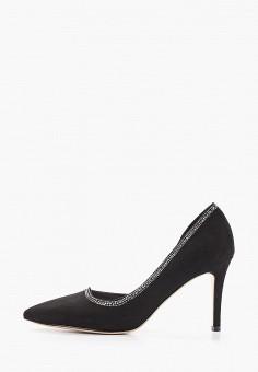 Туфли, Grand Style, цвет: черный. Артикул: GR025AWIBDJ9. Обувь / Туфли / Лодочки